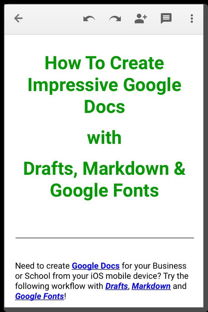Create Impressive Google Docs On The Go · Tech Streams